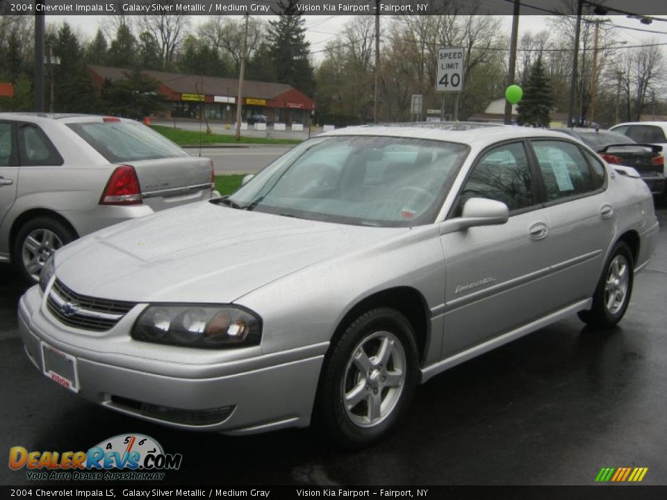2004 chevrolet impala ls galaxy silver metallic medium gray photo 1. Black Bedroom Furniture Sets. Home Design Ideas