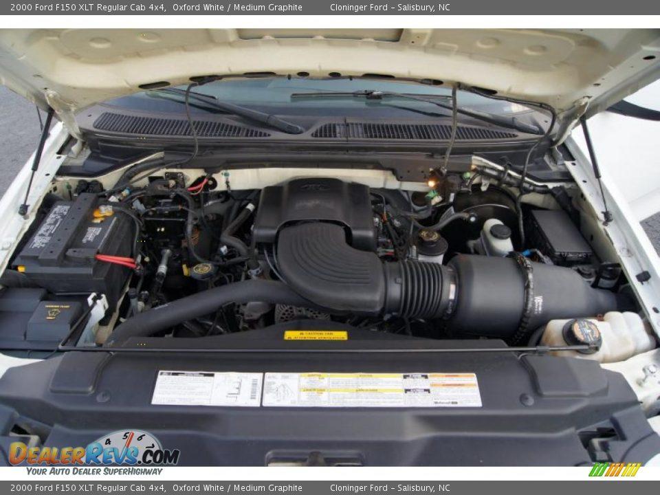 2000 ford f150 xlt regular cab 4x4 4 6 liter sohc 16 valve for Motor ford f150 v8