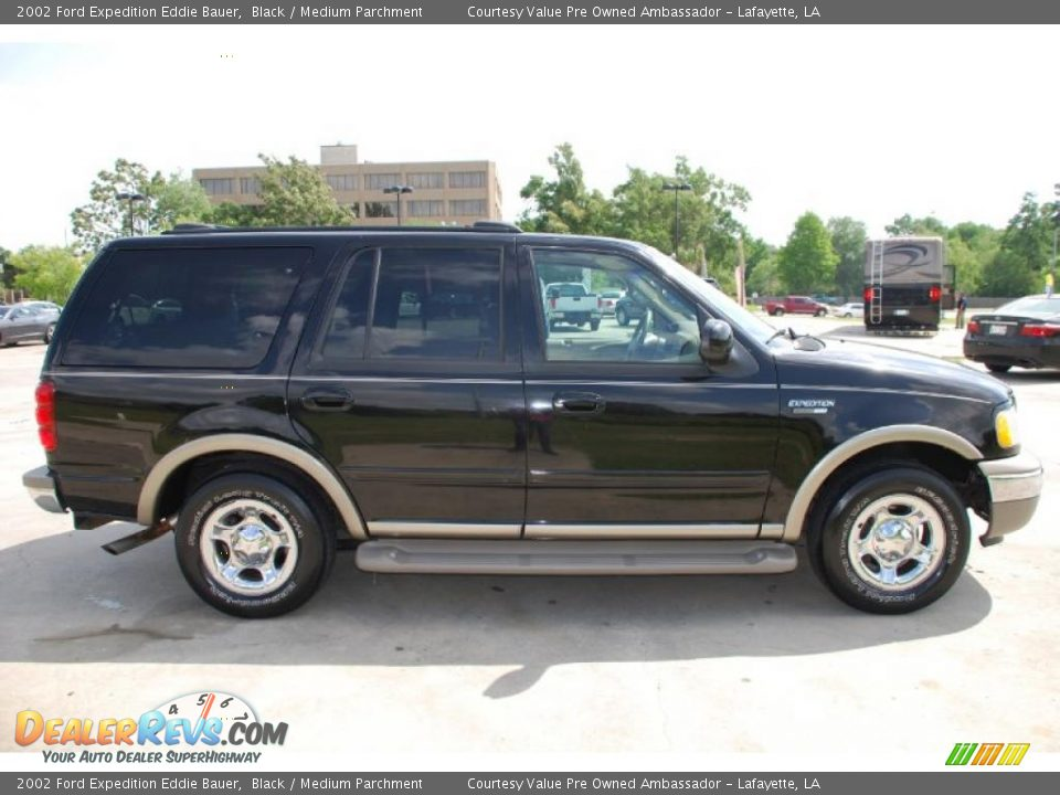 2002 ford expedition eddie bauer black medium parchment photo 5. Black Bedroom Furniture Sets. Home Design Ideas