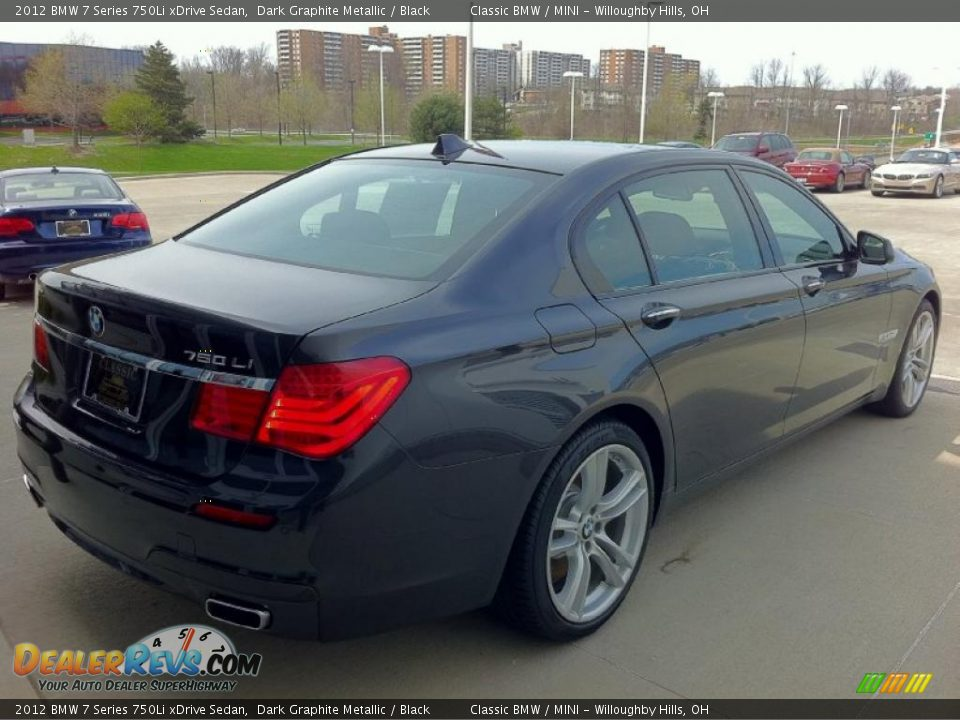 2012 bmw 7 series 750li xdrive sedan dark graphite. Black Bedroom Furniture Sets. Home Design Ideas