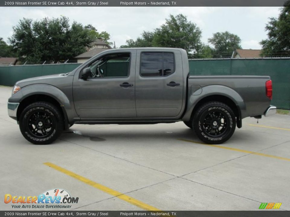 2009 nissan frontier se crew cab 4x4 storm gray steel photo 6. Black Bedroom Furniture Sets. Home Design Ideas