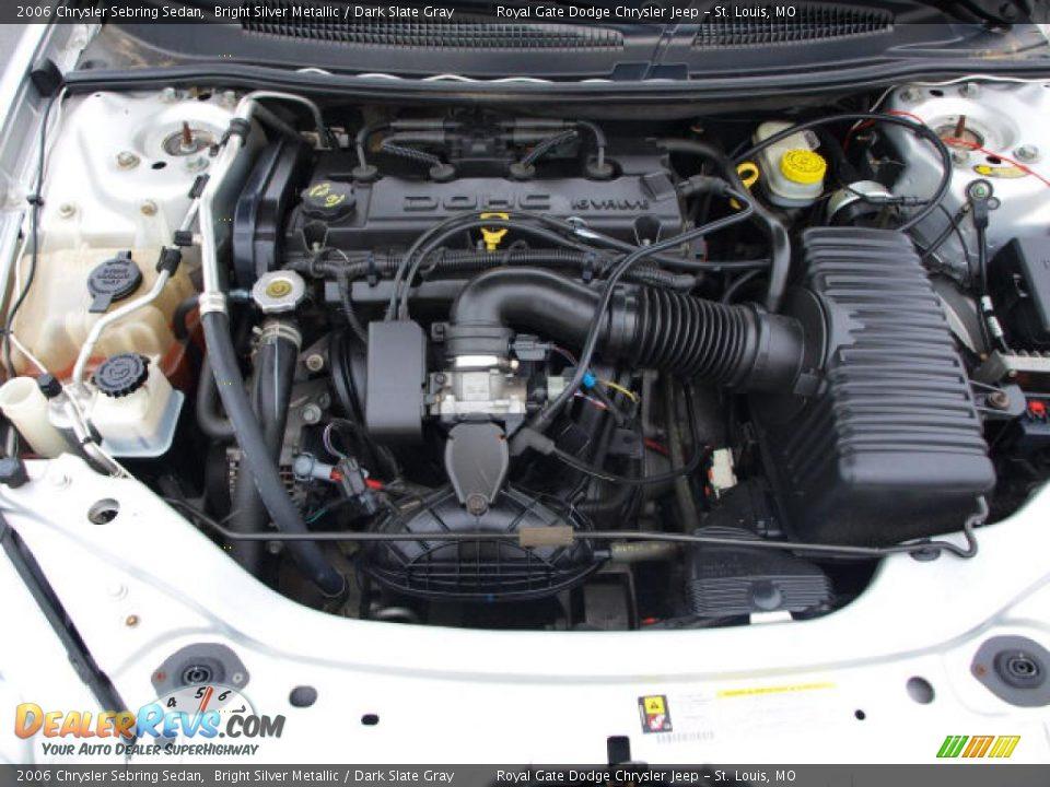 2006 Chrysler Sebring Sedan 2.4 Liter DOHC 16-Valve 4 ...