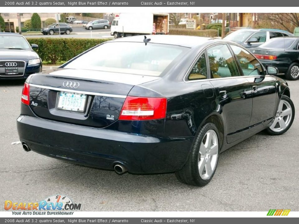 2008 audi a6 3 2 quattro sedan night blue pearl effect amaretto photo 2. Black Bedroom Furniture Sets. Home Design Ideas