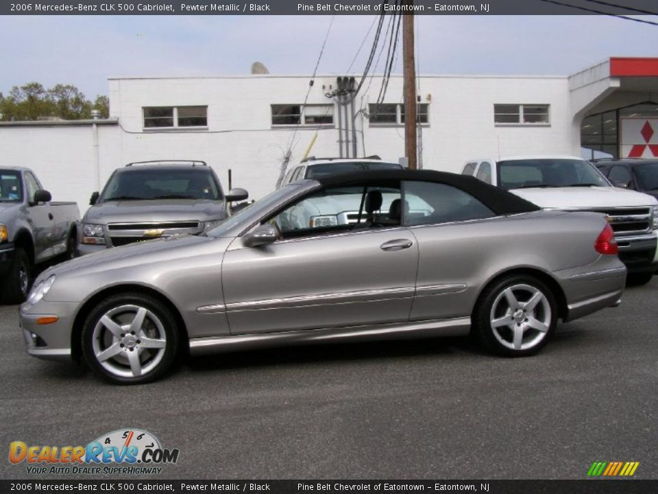 2006 mercedes benz clk 500 cabriolet pewter metallic for 2006 mercedes benz clk 500