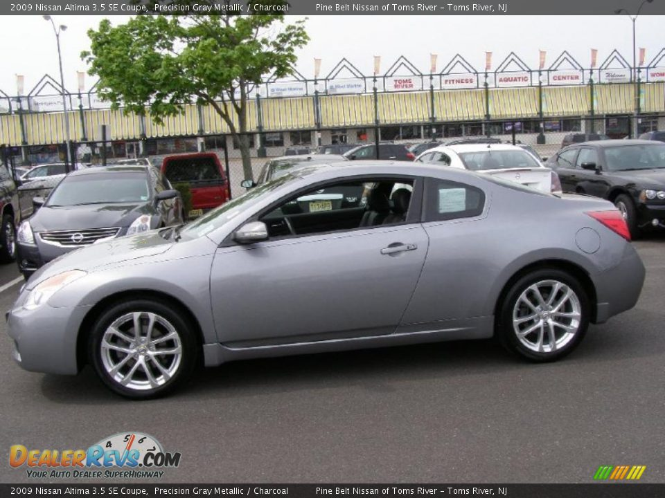 precision gray metallic 2009 nissan altima 3 5 se coupe photo 4. Black Bedroom Furniture Sets. Home Design Ideas