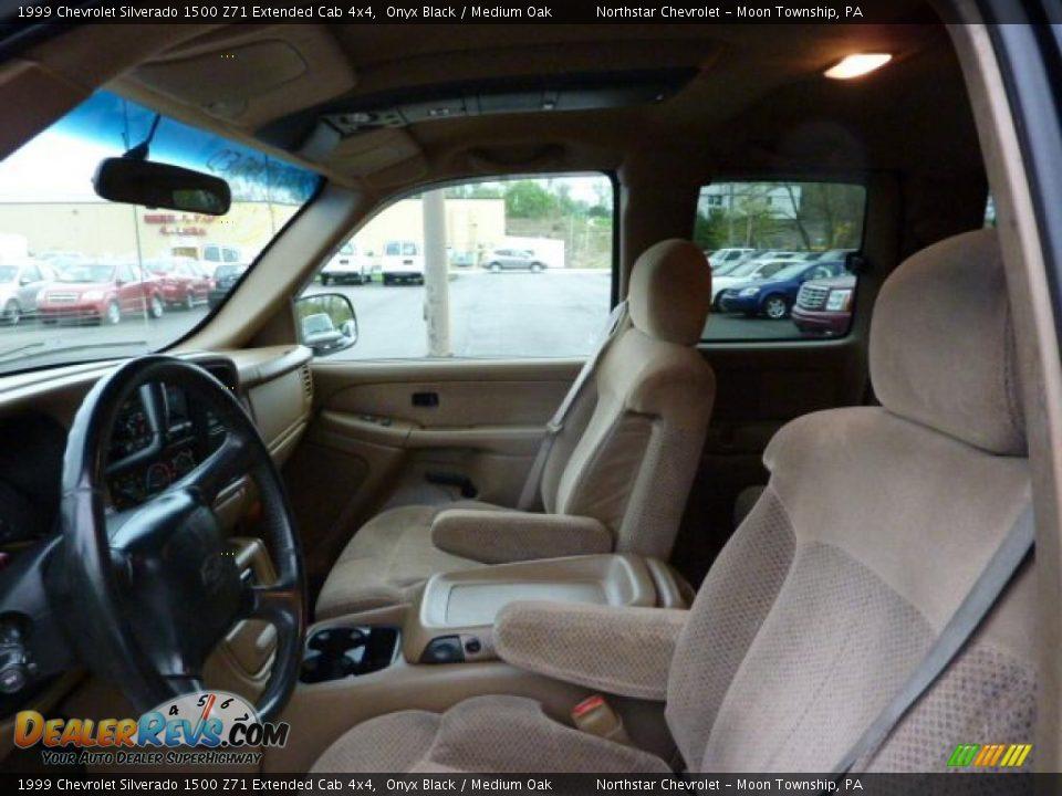 Medium Oak Interior 1999 Chevrolet Silverado 1500 Z71 Extended Cab 4x4 Photo 7