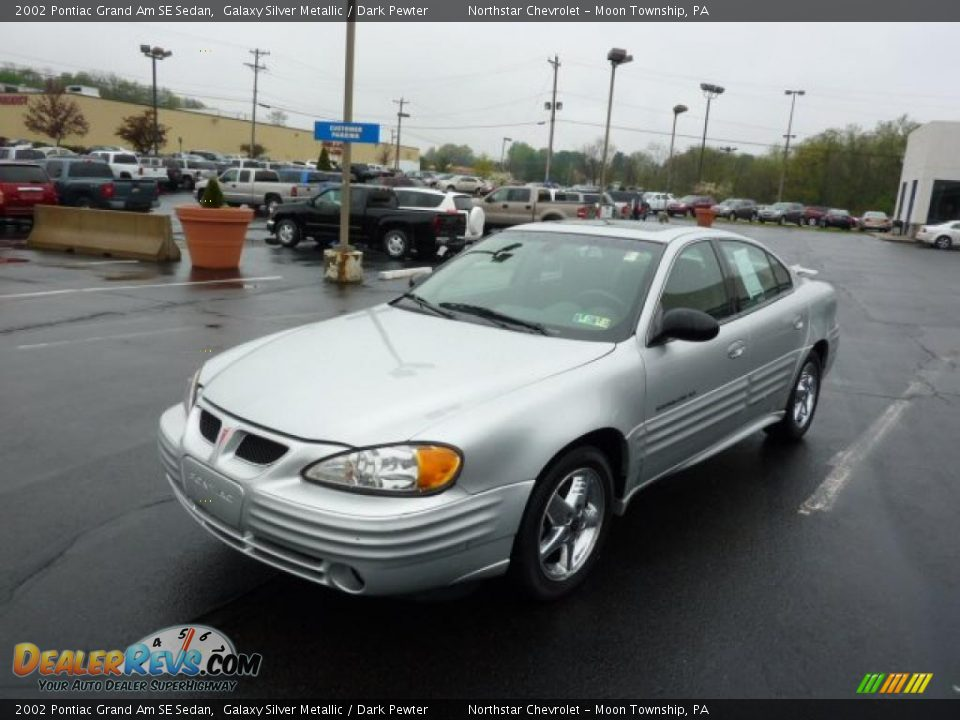 2002 pontiac grand am se sedan galaxy silver metallic dark pewter photo 3. Black Bedroom Furniture Sets. Home Design Ideas