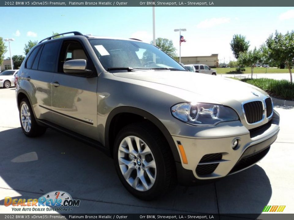 2012 Bmw X5 Xdrive35i Premium Platinum Bronze Metallic