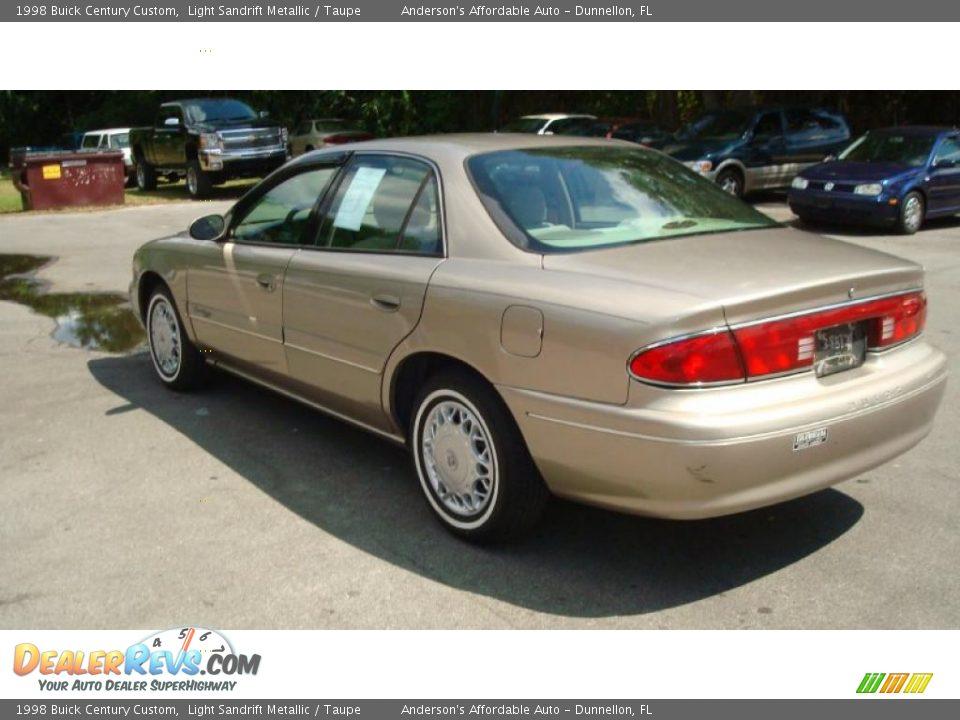 1998 Buick Century Custom Light Sandrift Metallic Taupe