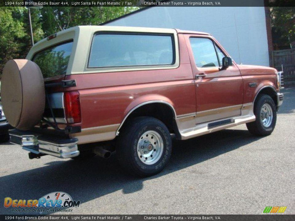 light santa fe pearl metallic 1994 ford bronco eddie bauer 4x4 photo 2. Black Bedroom Furniture Sets. Home Design Ideas