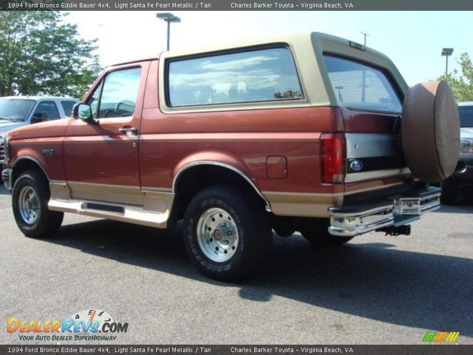light santa fe pearl metallic 1994 ford bronco eddie bauer 4x4 photo 4. Black Bedroom Furniture Sets. Home Design Ideas