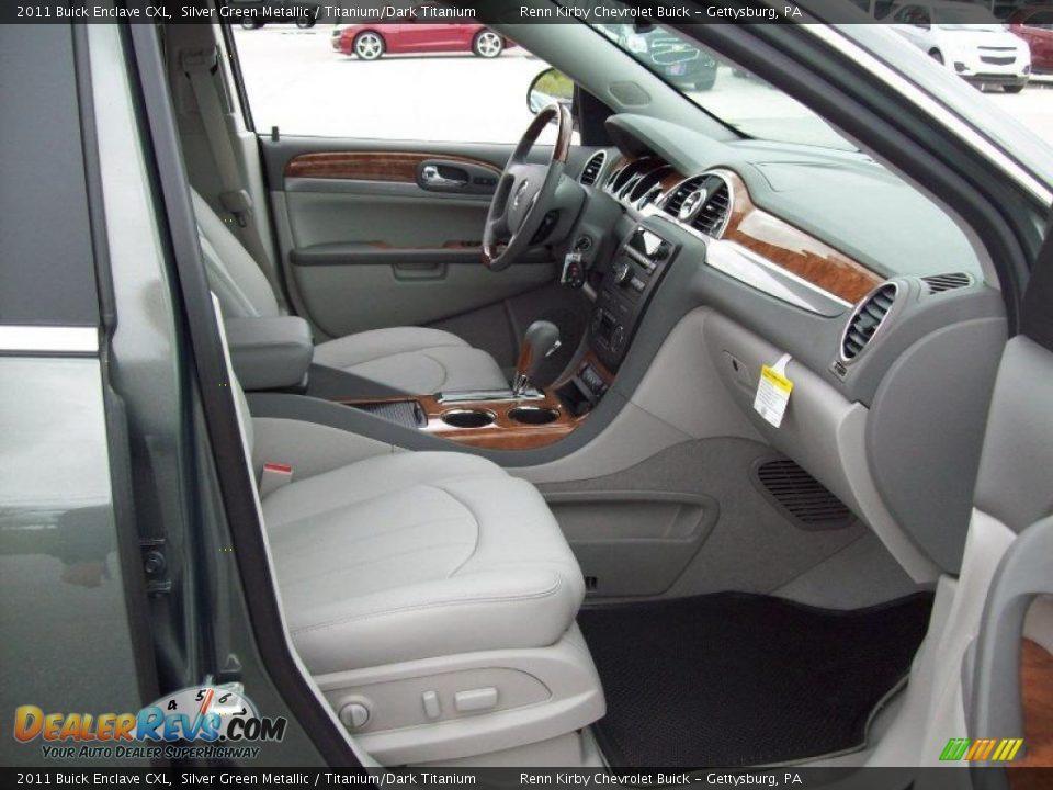 Titanium Dark Titanium Interior 2011 Buick Enclave Cxl Photo 5