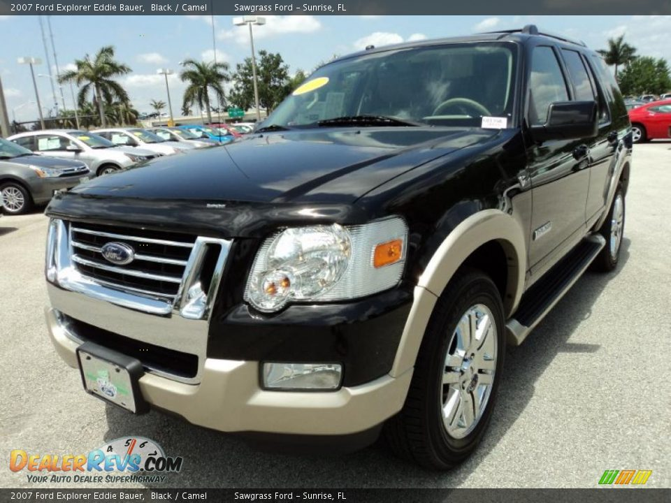 2007 ford explorer eddie bauer black camel photo 13. Black Bedroom Furniture Sets. Home Design Ideas