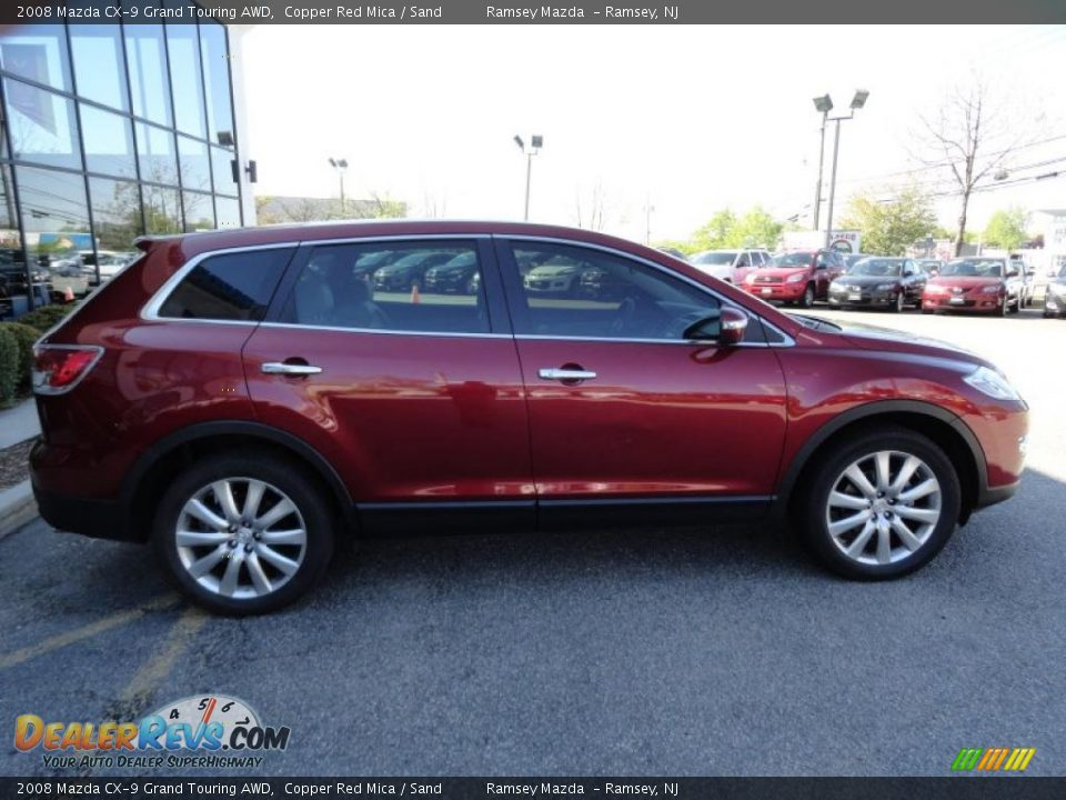 2008 mazda cx 9 grand touring awd copper red mica sand photo 8. Black Bedroom Furniture Sets. Home Design Ideas