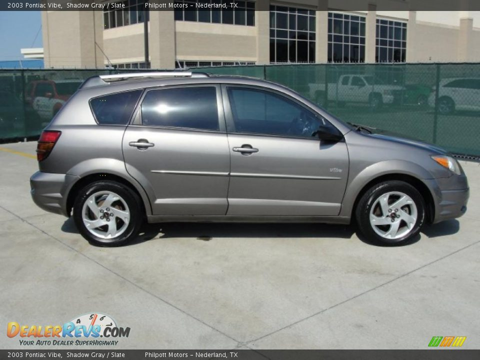 2003 Pontiac Vibe Shadow Gray Slate Photo 2