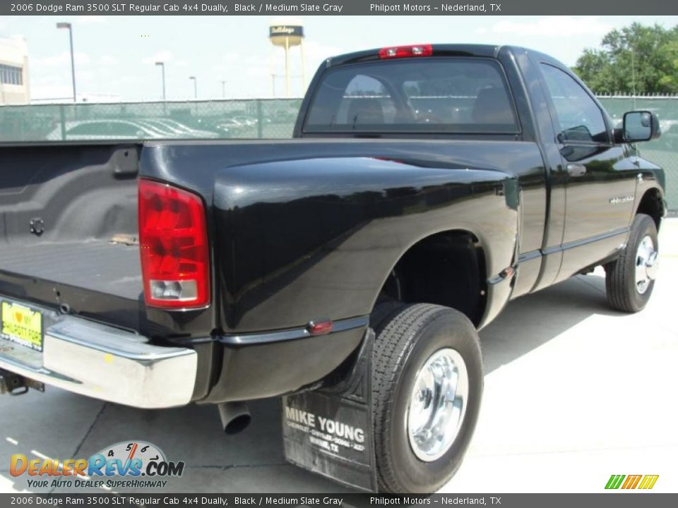 2006 Dodge Ram 3500 SLT Regular Cab 4x4 Dually Black / Medium Slate