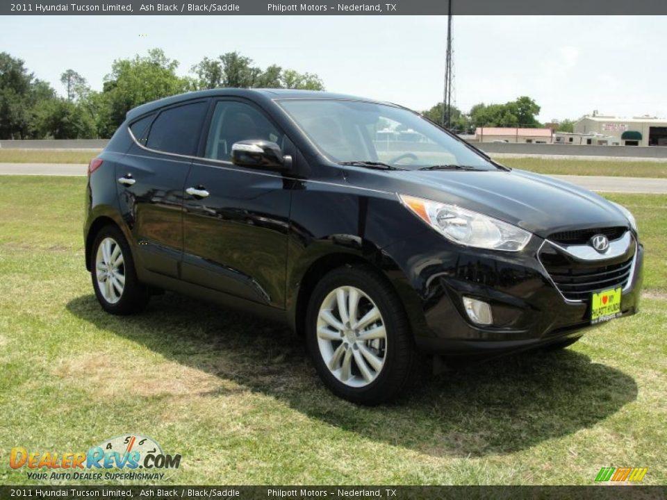 2011 Hyundai Tucson Limited Ash Black Black Saddle Photo