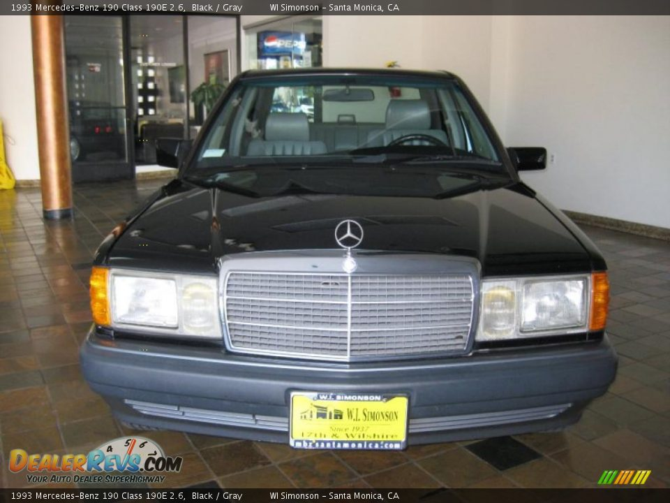 1993 mercedes benz 190 class 190e 2 6 black gray photo for 1993 mercedes benz 190e 2 6