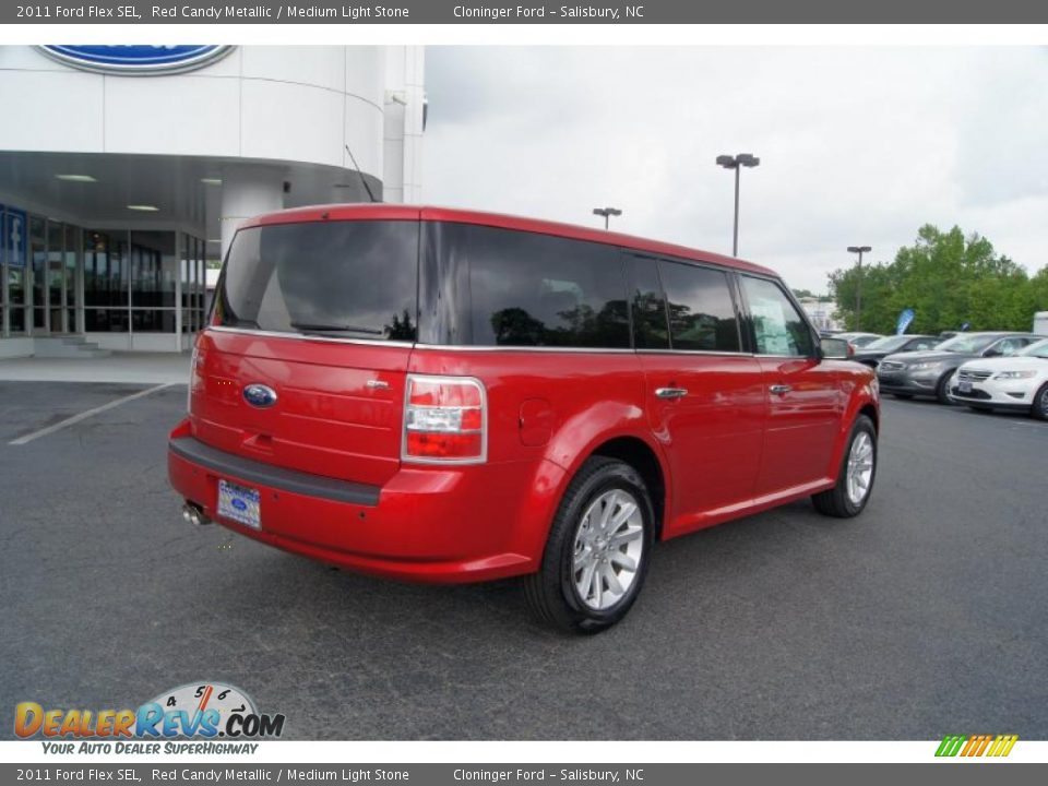 2011 ford flex sel red candy metallic medium light stone. Black Bedroom Furniture Sets. Home Design Ideas