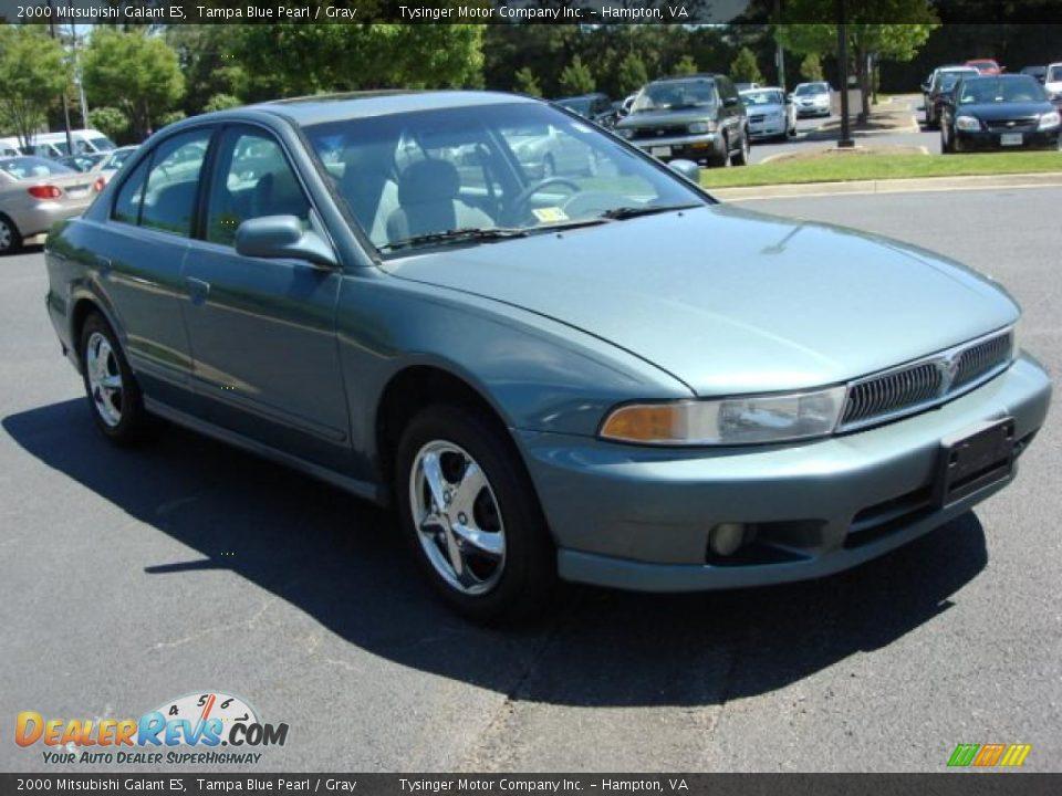 2000 Mitsubishi Galant ES Tampa Blue Pearl / Gray Photo #6 | DealerRevs.com
