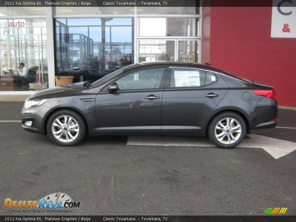 2011 Kia Optima Ex Platinum Graphite Beige Photo 2