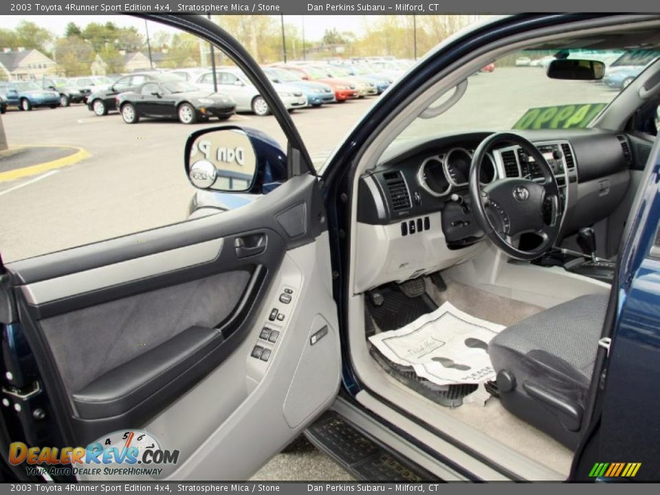 Stone Interior 2003 Toyota 4runner Sport Edition 4x4 Photo 11