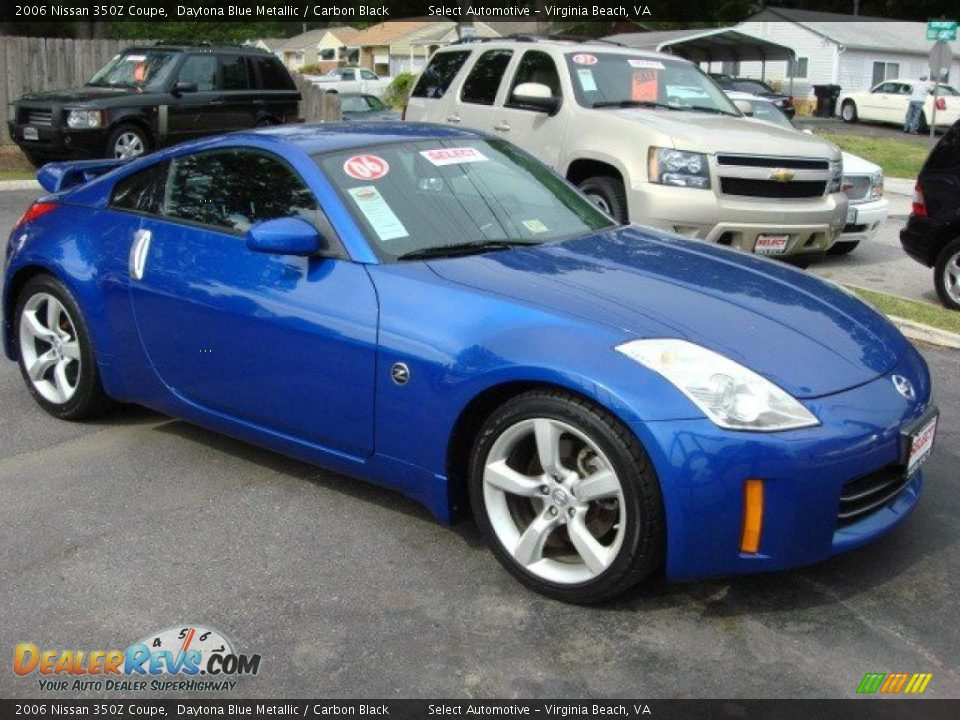 daytona blue metallic 2006 nissan 350z coupe photo 8. Black Bedroom Furniture Sets. Home Design Ideas