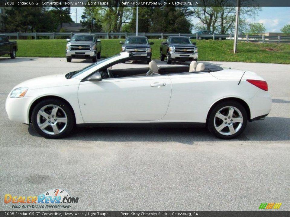 ivory white 2008 pontiac g6 gt convertible photo 17. Black Bedroom Furniture Sets. Home Design Ideas