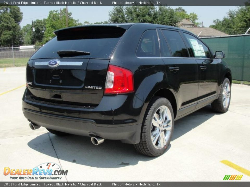 tuxedo black metallic 2011 ford edge limited photo 3. Black Bedroom Furniture Sets. Home Design Ideas