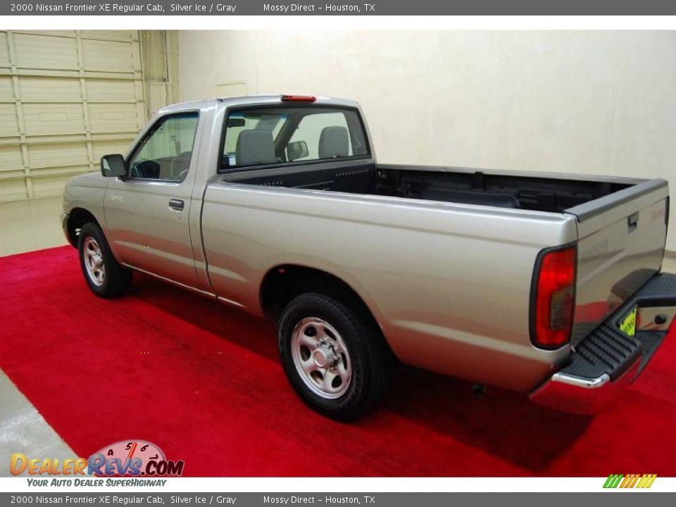 2000 nissan frontier xe regular cab silver ice gray photo 4. Black Bedroom Furniture Sets. Home Design Ideas
