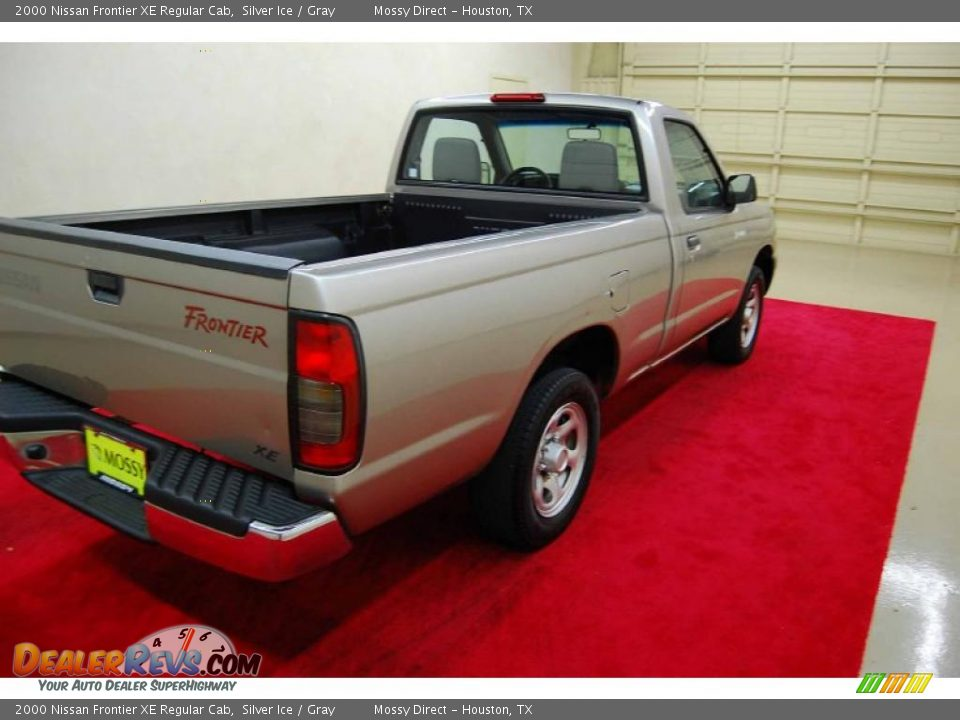 2000 nissan frontier xe regular cab silver ice gray photo 6. Black Bedroom Furniture Sets. Home Design Ideas