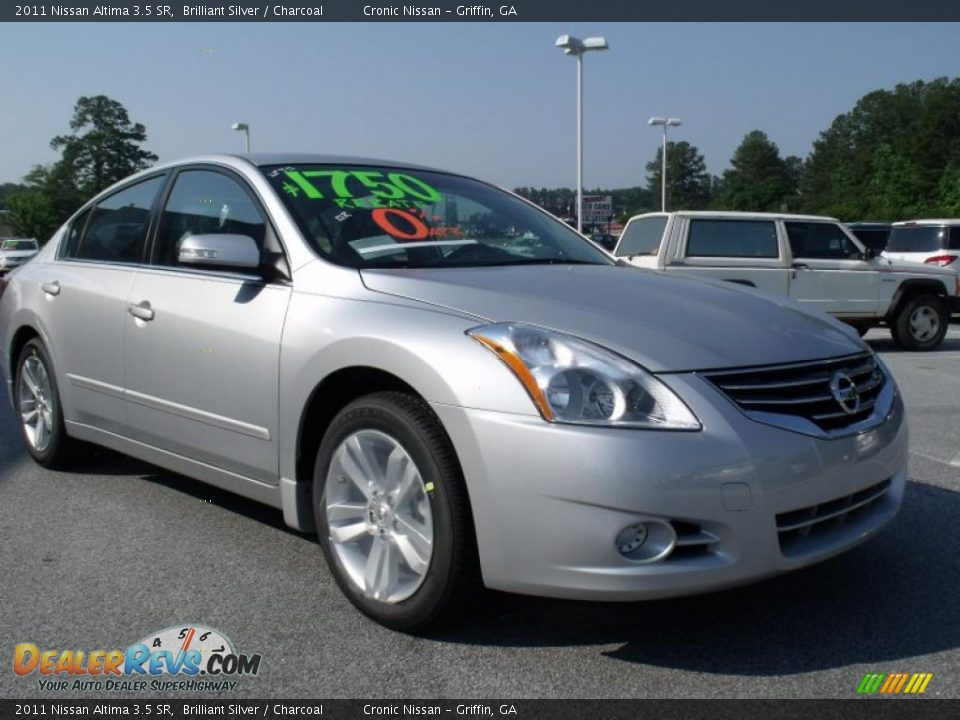 2011 Nissan Altima 3 5 Sr Brilliant Silver Charcoal