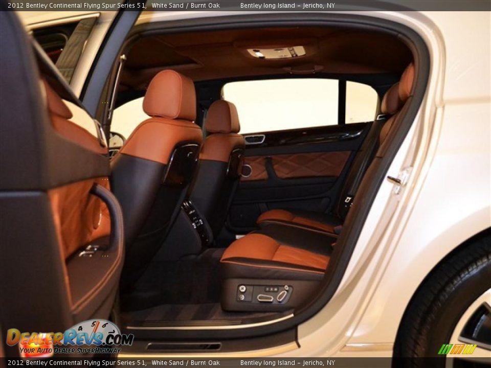 Burnt Oak Interior 2012 Bentley Continental Flying Spur Series 51