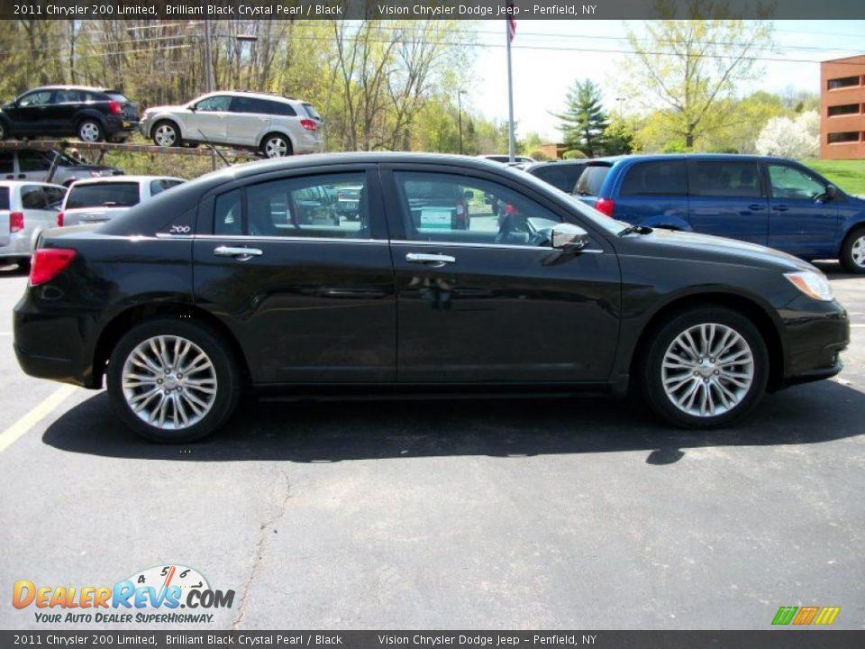 Chrysler 200 Limited >> 2011 Chrysler 200 Limited Brilliant Black Crystal Pearl / Black Photo #16 | DealerRevs.com