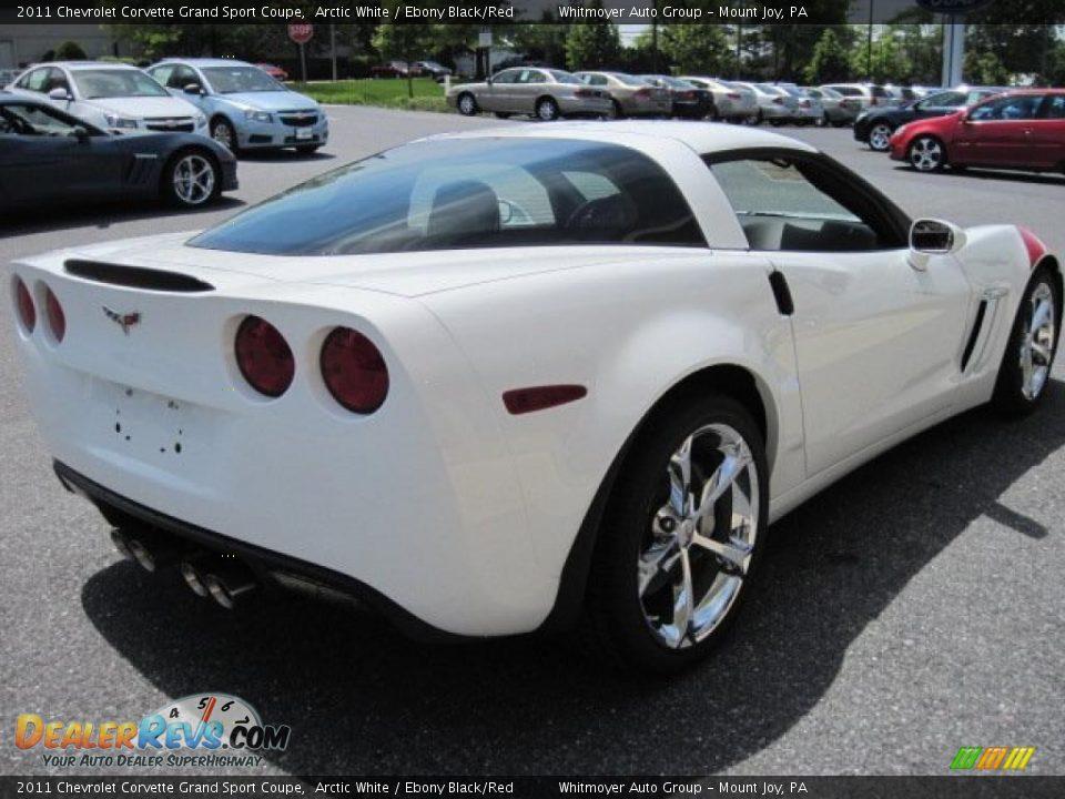 Arctic White 2011 Chevrolet Corvette Grand Sport Coupe
