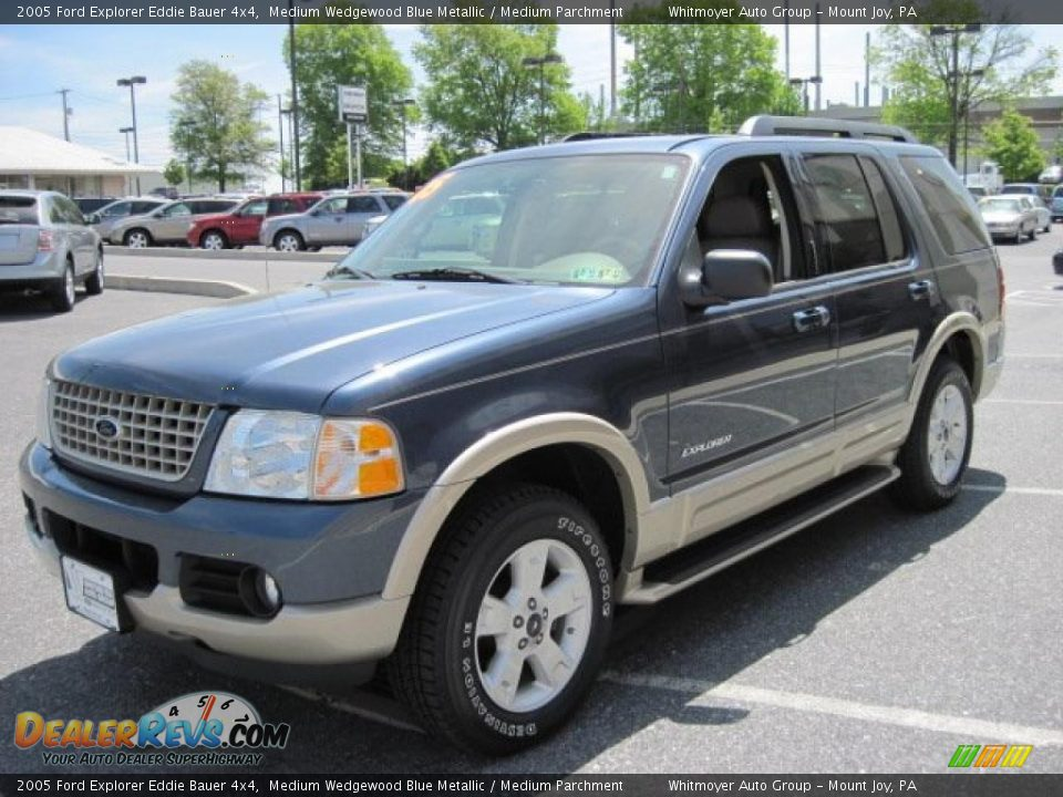 2005 ford explorer eddie bauer 4x4 medium wedgewood blue metallic medium parchment photo 3. Black Bedroom Furniture Sets. Home Design Ideas