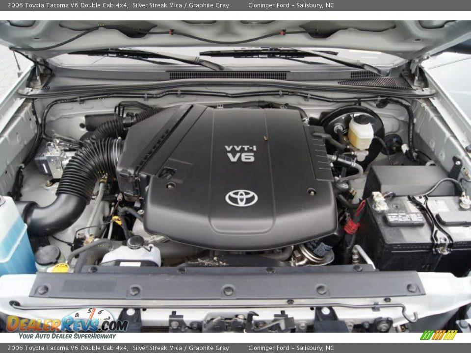 2006 Toyota Tacoma V6 Double Cab 4x4 4.0 Liter DOHC EFI ...