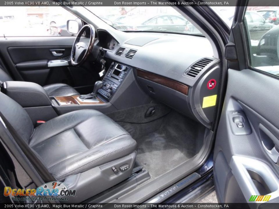 graphite interior 2005 volvo xc90 v8 awd photo 18. Black Bedroom Furniture Sets. Home Design Ideas