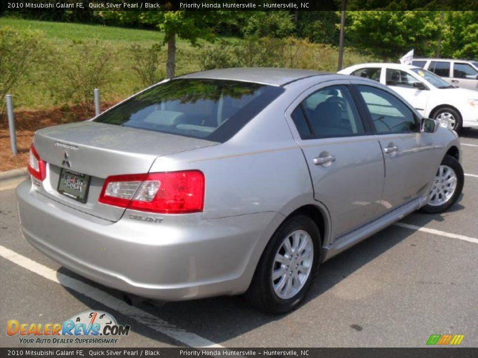 2010 Mitsubishi Galant Fe Quick Silver Pearl Black Photo