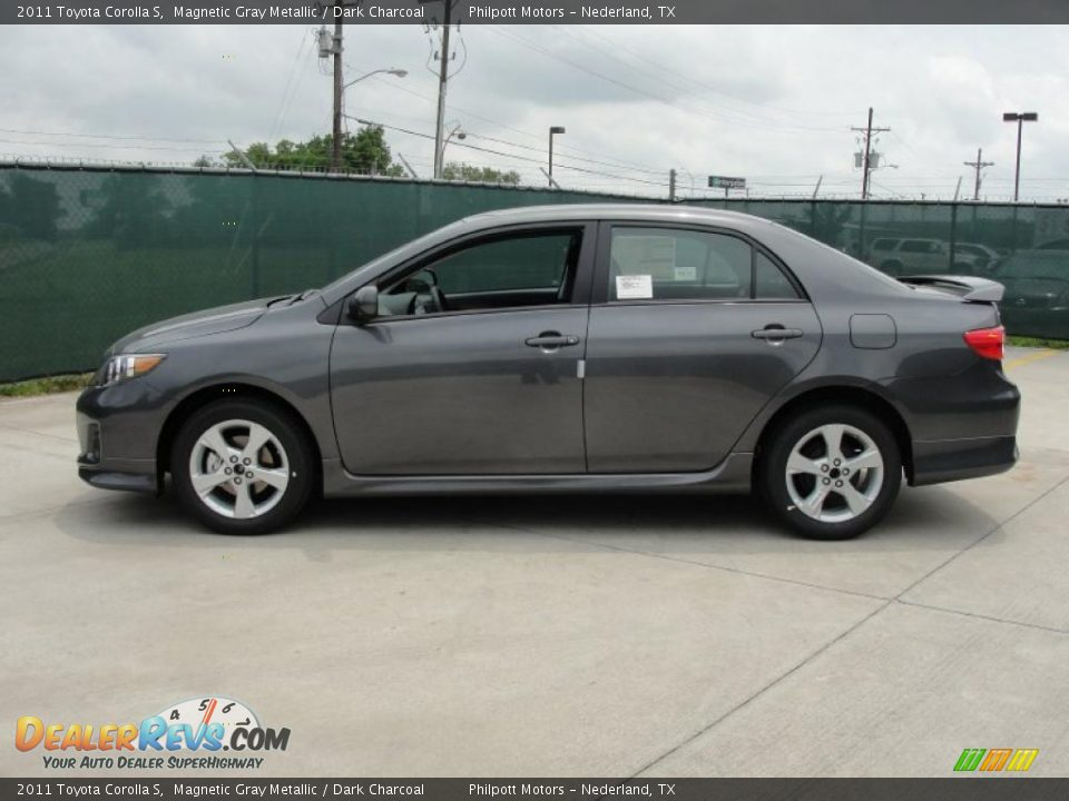 2011 Toyota Corolla S Magnetic Gray Metallic Dark