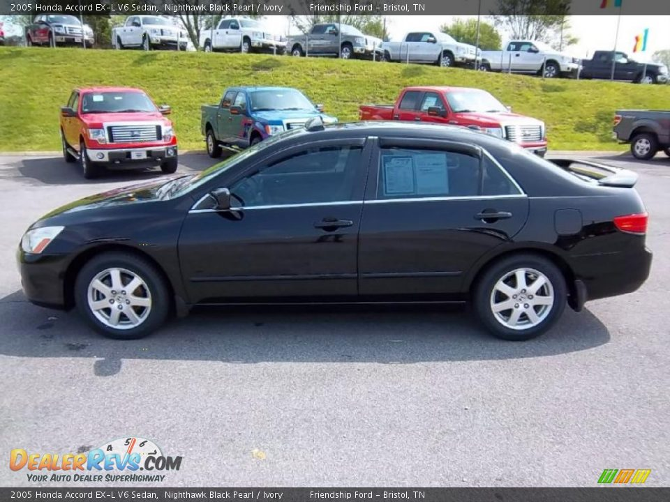 2005 honda accord ex l v6 sedan nighthawk black pearl. Black Bedroom Furniture Sets. Home Design Ideas