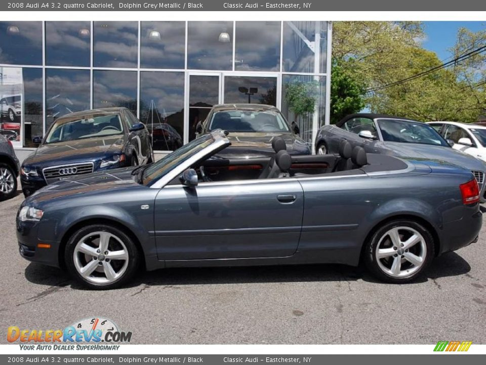 2008 audi a4 3 2 quattro cabriolet dolphin grey metallic. Black Bedroom Furniture Sets. Home Design Ideas