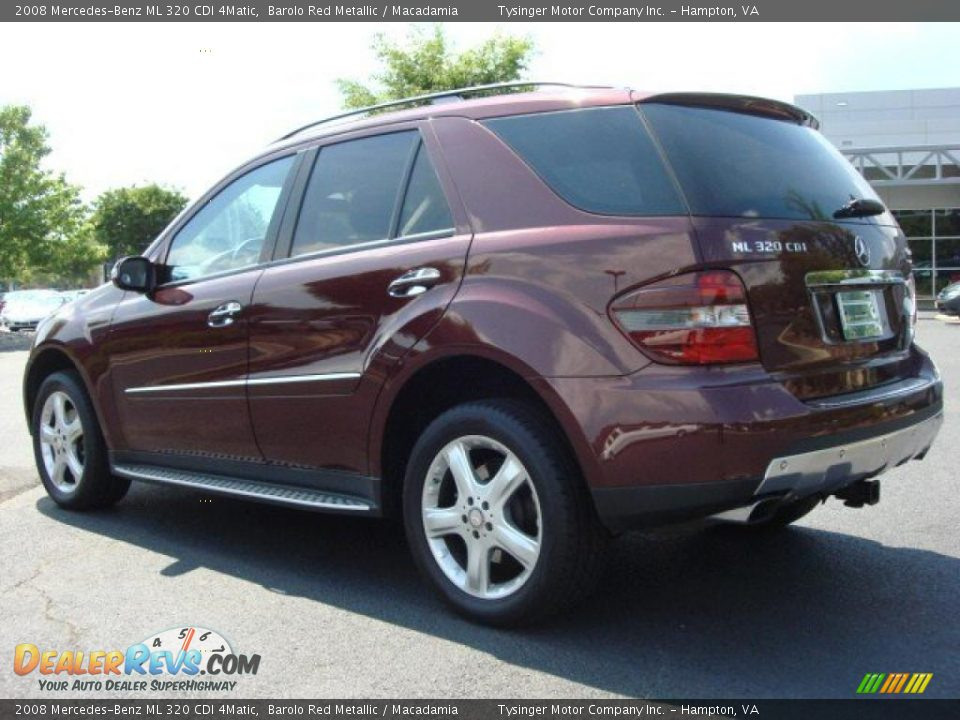 2008 mercedes benz ml 320 cdi 4matic barolo red metallic macadamia photo 4. Black Bedroom Furniture Sets. Home Design Ideas