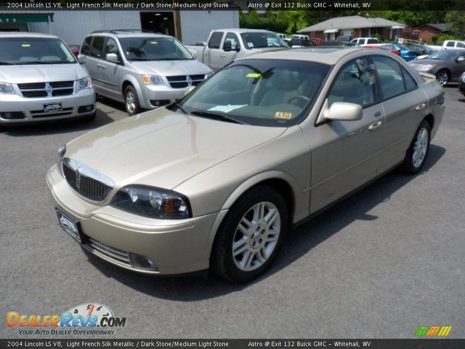 2004 Lincoln Ls V8 Light French Silk Metallic Dark Stone