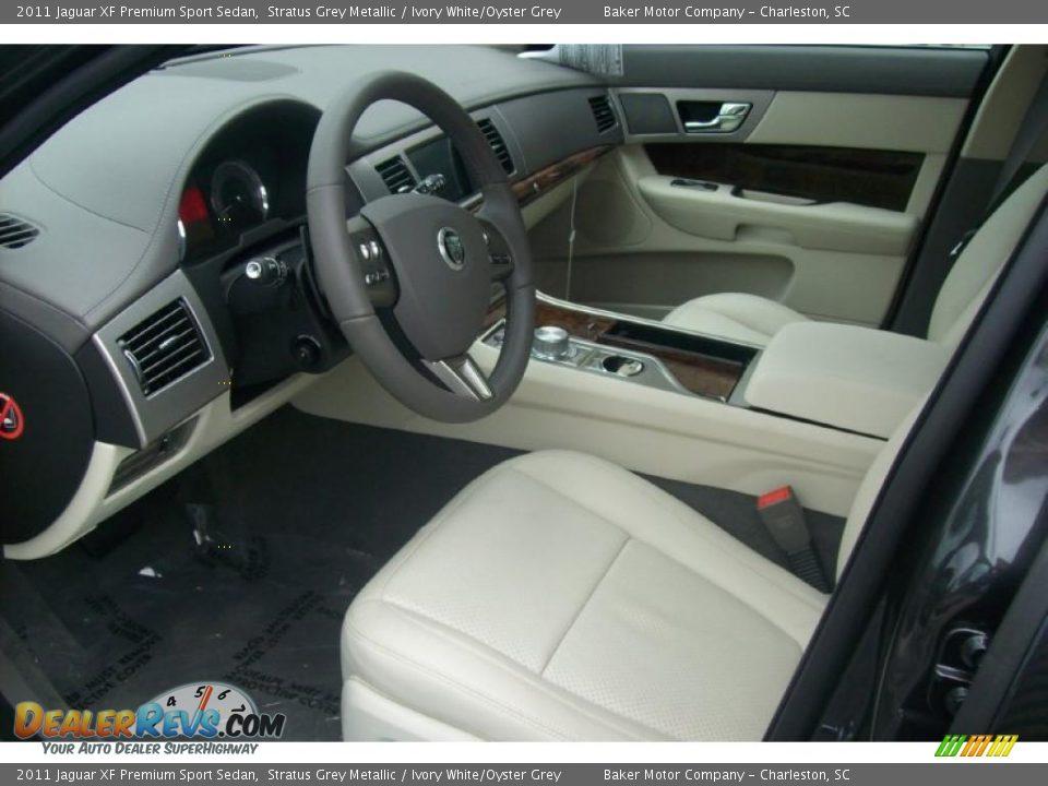 ivory white oyster grey interior 2011 jaguar xf premium sport sedan photo 8. Black Bedroom Furniture Sets. Home Design Ideas