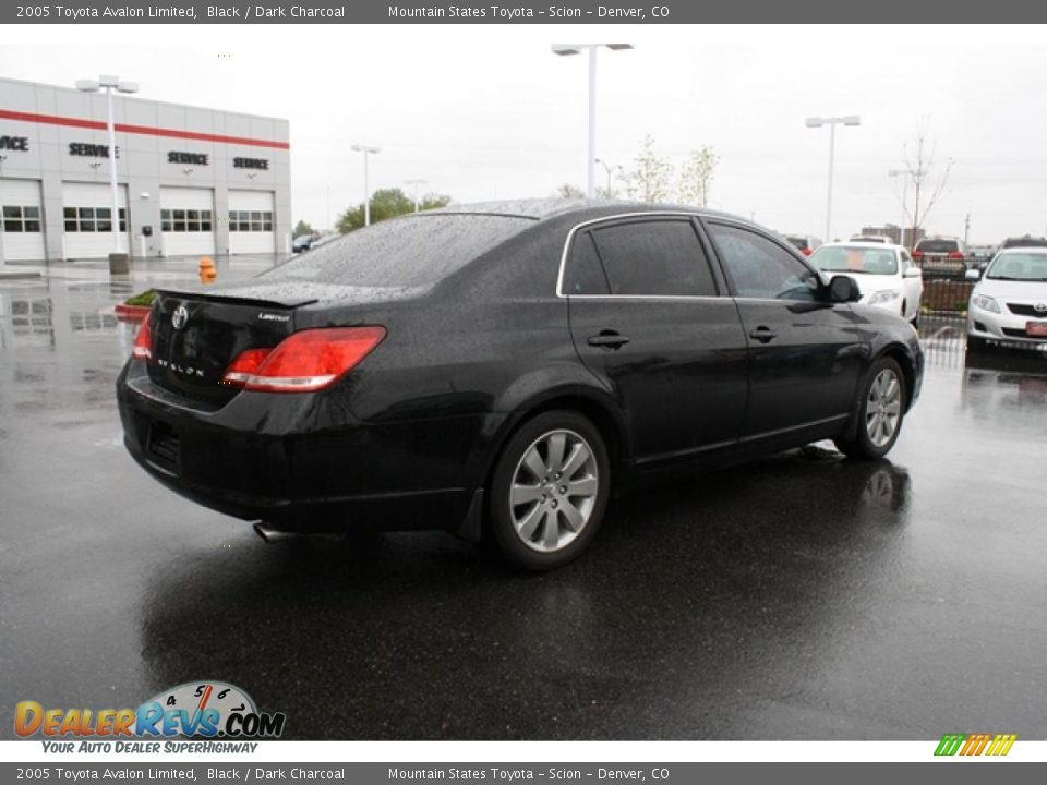 2005 Toyota Avalon Limited Black Dark Charcoal Photo 2