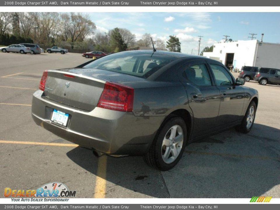 2008 Dodge Charger Sxt Awd Dark Titanium Metallic Dark