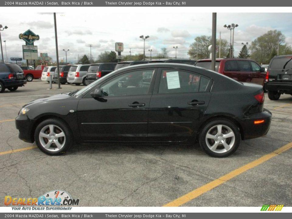 2004 Mazda Mazda3 I Sedan Black Mica Black Photo 12