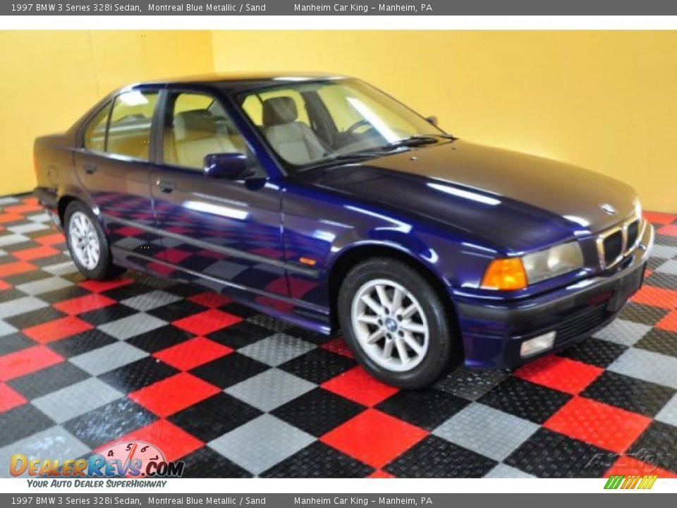 1997 Bmw 3 Series 328i Sedan Montreal Blue Metallic Sand