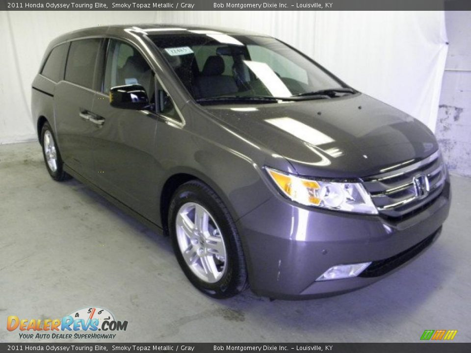 2011 Honda Odyssey Touring Elite Smoky Topaz Metallic